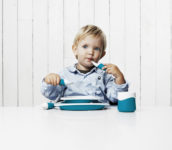 Toddler Table Blue
