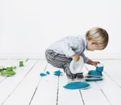 Toddler Table Stable Blue