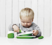 Toddler Tableware Green