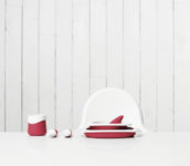 Toddler Tableware Red